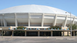 Look inside: Engineers tour Coliseum for new TDZ application